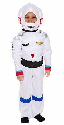 Astronaut Girl Costume (Children Space Boy Girl Costume Book Week Astronaut NASA Fancy Dress 4-12)
