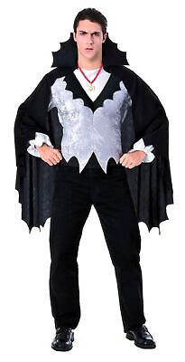 Classic Halloween Costumes For Men (Adult Classic Vampire Costume - Adult  Halloween, Men's, one size fits)