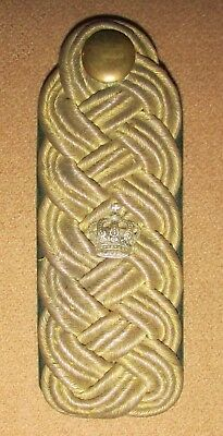 WW1 Imperial German/Bavarian Forestry General's Shoulder Board ~ Uniform WW1
