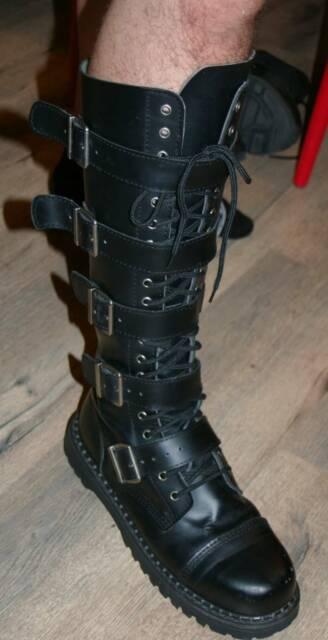 2f519ac77fc Demonia Riot-20 Combat Boots Men  39 s 12 - Punk