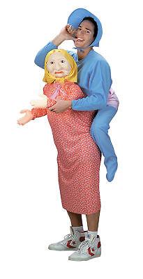 Erwachsene Mommys Herren-Kostüm Pyjama Halloween Kostüm Disguise ()