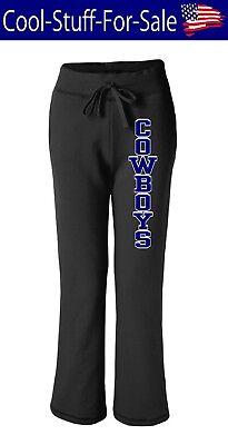 Dallas Cowboys Ladies Football Sweatpants with Pockets - Ladies Pocketed Sweatpants