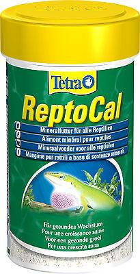 Tetra ReptoCal 100ml Mineralfutter in Pulverform für alle Reptilien Vitamine