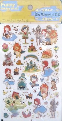 Funny Sticker World The Wizard of Oz Scrapbooking Sticker Sheet~KAWAII!!