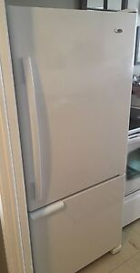 18CU. FT. AMANA FRIDGE -BOTTOM MOUNT FREEZER -MAKE AN OFFER!!