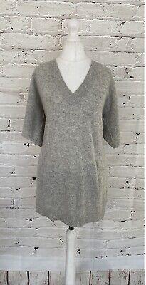 WHISTLES 100% Cashmere Ladies Jumper Medium M - Short Sleeve
