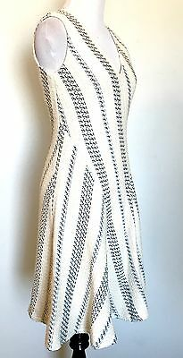 Tory Burch Cream Woven Stacey Dress. NWT Retail $425  Price $190 Size 2