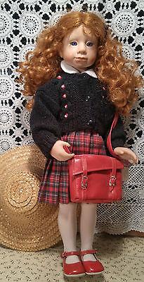 "GOOD KRUGER Doll ""Tess"" Vinyl 20"" No box"