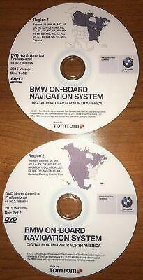 BMW E90 E91 E92 E93 E60 E61 E63 E64 E70 E71 Navigation 2015 DVD EAST & WEST Map