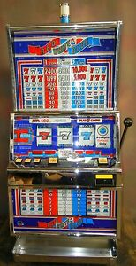Glas finger slot machine