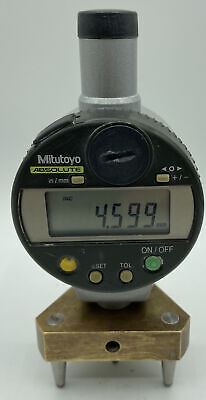 Mitutoyo 543-453b Digimatic Digital Indicator Id C125tb Comes With Brass Stand