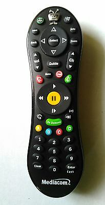 Tivo Roamio Remote Control Tv Cable Back Button Used Replacement Rf Mediacom Bin