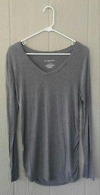Liz Lange for Target Long Sleeve Maternity Shirt, Size L