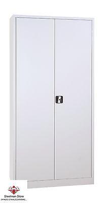 Büroschrank  Stahlschrank  Metallschrank  Aktenschrank 180x80x38 cm (HxBxT)