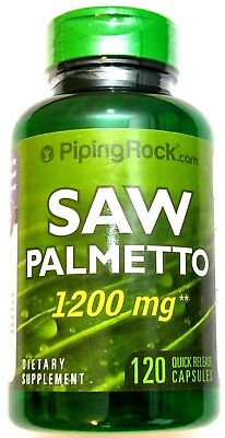 Saw Palmetto Berry Extract (1200mg Saw Palmetto 4:1 Berry Extract 120 Capsule Prostate Urinary Sexual)