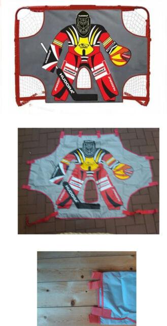 HUDORA Torwand mit Klettverschlüssen Ersatztorwart Streethockey