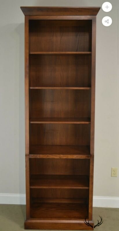 Ethan Allen Horizon Collection Tall Bookcases/Pair