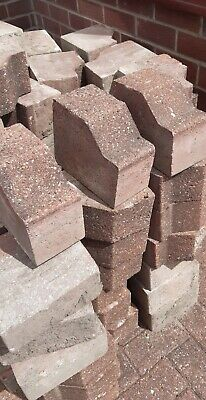107 x Block Paving Edging Blocks.
