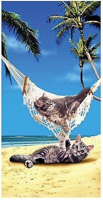 Hammock Cats Beach Bath Towel 30