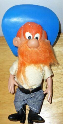 """Vintage Yosemite Sam R. Dakin Co. 7"""" Plastic Figure Looney Tunes Dressed Hat"""