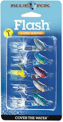 Blue Fox Flash Spinner Kit Flashy Deep Running Inline Spinner Trout Fishing Lure