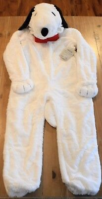 New Pottery Barn Kids SNOOPY Peanuts Dog Faux Fur Costume - Kids 3T