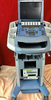 Sonosite Micromaxx P01139 Ultrasound System Wc60e 5-2 Transducer Printer Sony