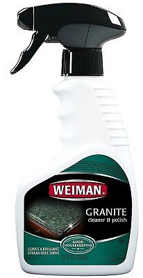 Granite Marble Stone Cleaner & Polish clean shine 12 oz Trigger Spray WEIMAN 078