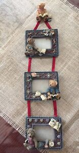 "Hand painted ""Teddy Bear"" Picture Frames"