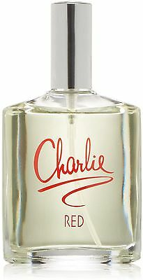 Charlie Red By Revlon For Women Eau De Toilette Spray 3 4 Oz