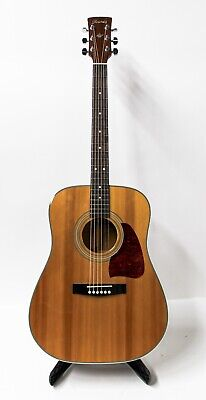 1998 Ibanez AW100 AW 100 Dreadnought Acoustic Guitar - Natural