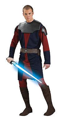 Anakin Skywalker Luxus Erwachsene Herren Kostüm Tunika mit Hose Kostüm Rubies ()