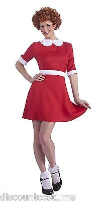ANNIE THE MUSICAL HALLOWEEN COSTUME ADULT SIZE 14/16 - Annie Halloween Costumes