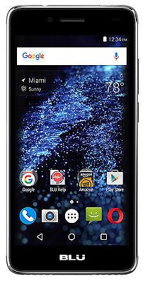 BLU Studio Selfie 2 S250Q Unlocked GSM Dual SIM Quad-Core Android Phone - Grey