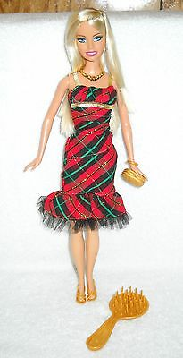 #6595 New Displayed Mattel Supermarket Holiday Party Barbie Special - Party Supermarket