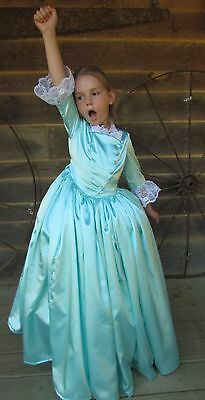 Hamilton Schuyler Sisters Modest Halloween Costume ~Eliza~ Child Size 4 to 14](Halloween Costumes Hamilton)
