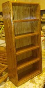 nascar solid oak 1/24th 5 car tower display case shelf