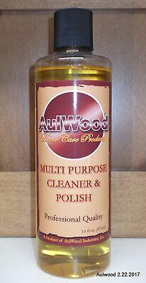 Aulwood Multi-purpose Wood Cleaner and Polish 16oz (70772)