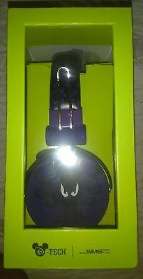Disney Parks D Tech Haunted Mansion Purple Wallpaper Headphones Global Shipping