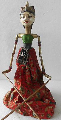 1 Holz Puppe Wayang Golek Marionette Original rod puppet WGT02