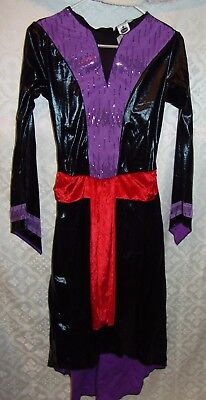 Disney Villains Evil Queen Ruelala Womens Small S Costume Dress Only Halloween - Halloween Costumes Disney Villains