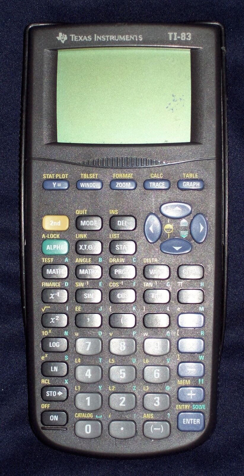 Texas Instruments TI-83 Graphing Calculator (1999 Edition)
