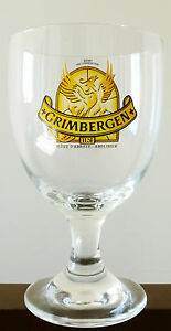 NEW GRIMBERGEN BELGIAN BEER GLASS 12oz