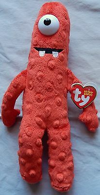 MUNO - YO GABBA GABBA TY BEANIE BABY - NEW & MINT WITH MINT TAGS