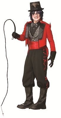 Deluxe Twisted Sinister Ringmaster Costume Circus Lion Tamer Adult Standard Mens (Lion Tamer Costume Men)