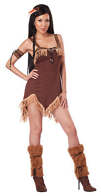 Sexy Indian Princess Pocahontas Halloween Adult - Pocahontas Halloween Costume For Women