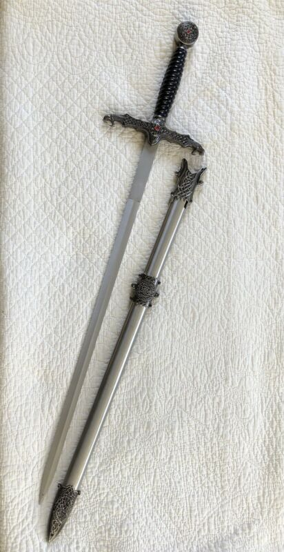 Vintage Lord of the Rings Gondorian Infantry Sword & Scabbard