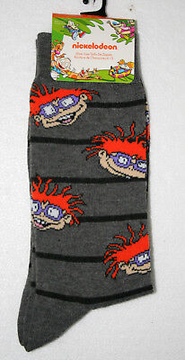 Chucky from The Rugrats Nickelodeon New Tags Pair Socks Fits 6-12 2018