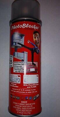 Seen on tv Photo Blocker Spray License Plate  no red light camera ticket