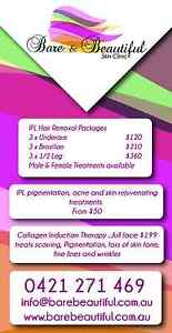 IPL ....PERMANENT HAIR REMOVAL FOR MEN AND WOMEN Nerang Gold Coast West Preview